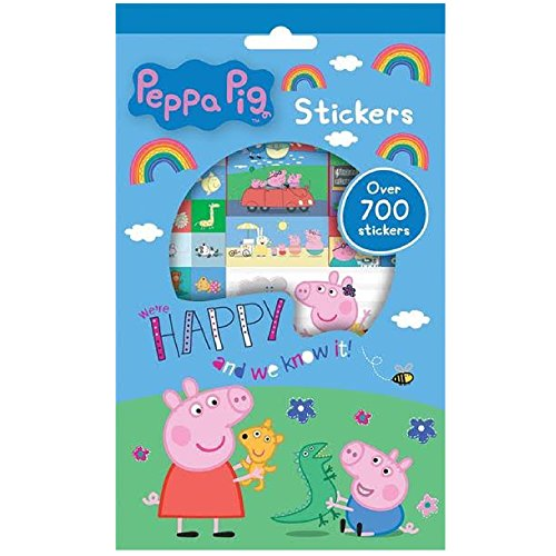 Anker 2 x Peppa Pig 700-stickers Collection Lot