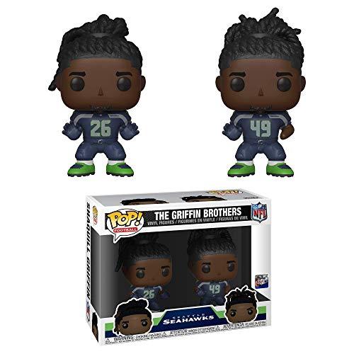 Funko- Pop Vinile 2-Pack: NFL-Griffin Brothers Figura da Collezione, Multicolore, 38166