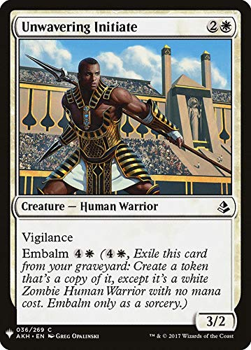 Magic: The Gathering - Unwavering Initiate - Mystery Booster - Amonkhet