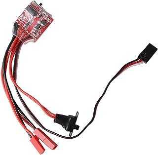 Mini Spazzola Elettronica di Controllo della velocit/à 30A Spazzolato ESC DIY Accessorio per Telecomando Auto