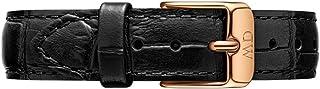Daniel Wellington Petite Reading Leather Strap 32 mm, Rose Gold - DW00200143