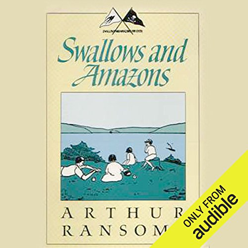Swallows and Amazons  audiobook cover art