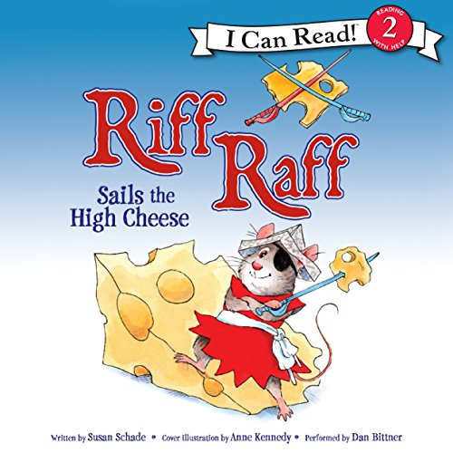 Riff Raff Sails the High Cheese audiobook cover art