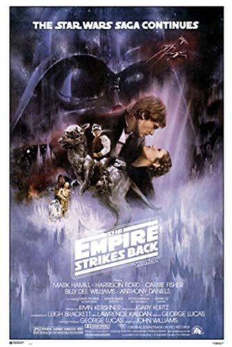 Grupo Erik GPE4674 Poster Star Wars Classic El Imperio Contra Ataca, carta, Multicolore, 91 x 61,5 x 0,1 cm