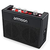 ammoon Portable Guitar Amplifier with Aux Input and Headphone Output, Power Adapter Included