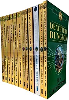 Fighting Fantasy Series 1 and 2- 12 Books Set Collection Pack Ian Livingstone