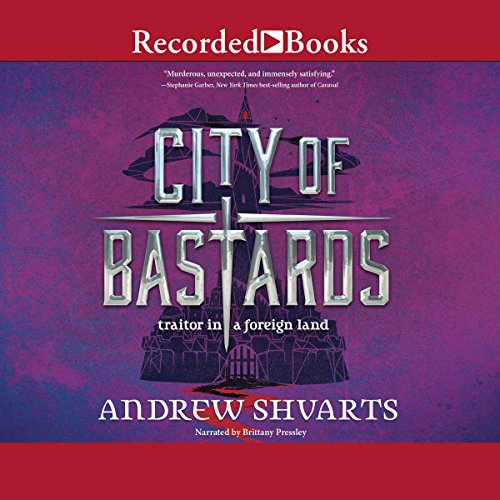 City of Bastards                   By:                                                                                                                                 Andrew Shvarts                               Narrated by:                                                                                                                                 Brittany Pressley                      Length: 11 hrs and 7 mins     15 ratings     Overall 4.4