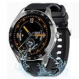 IOWODO Smartwatch Uomo Orologio Fitness Tracker Ragazzi con 9 Modalità di Allenamento, Frequenza...