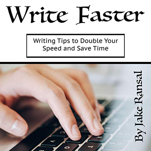 Write Faster audiobook cover art
