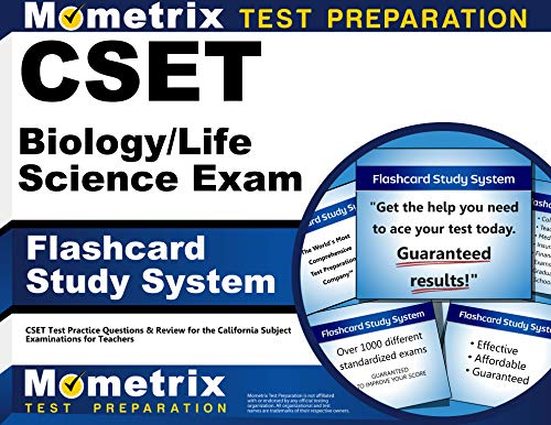 CSET Biology/Life Science Exam Flashcard Study System: CSET Test Practice Questions & Review for the California Subject Examinations for Teachers (Cards)