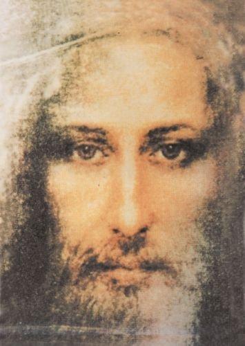 Bild - Karte Jesus (15x20 cm, drucklackiert)