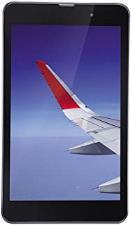 iBall Slide Wings 4GP Tablet (8 inch, 16GB, Wi-Fi + 4G LTE, Voice Calling), Silver Chrome