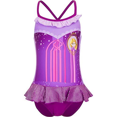 Princesas disfraz entero piscina playa nia nia Rapunzel 4 aos