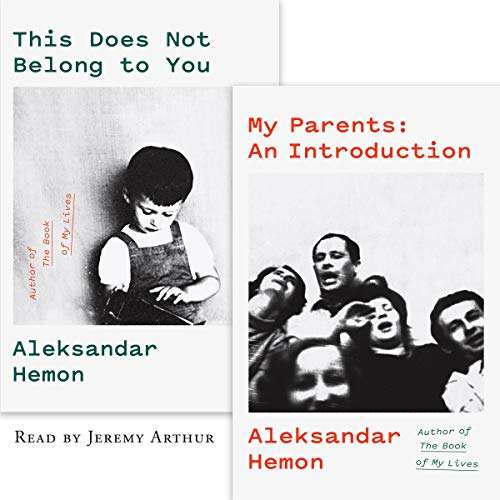 My Parents: An Introduction / This Does Not Belong to You audiobook cover art