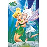 Trends International Disney Fairies Secret of The Wings Tinker Bell Periwinkle Animated Fantasy Movie Cool Wall Decor Art Print Poster 22x34