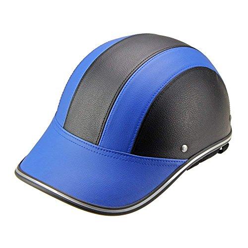 Forart Unisex-Erwachsener Halbhelm Motorrad Halbhelm Mopeds Scooter Pilot Helm