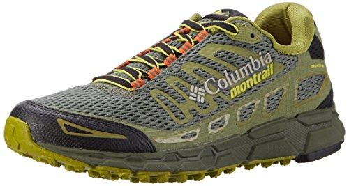 Columbia Bajada III, Zapatillas de Running para Asfalto para Hombre, Verde (Cypress/Cool...