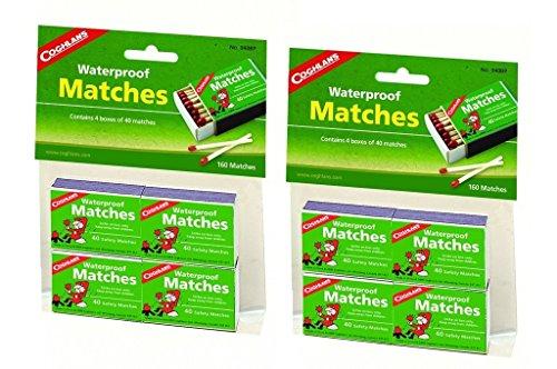 Coghlan's 940BP Waterproof Matches - 8.0 Pack