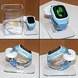 Swiss-Pro Zug A–Smartwatch, schermo IPS, Bluetooth 3.0, Micro SIM, GPS, colore: blu