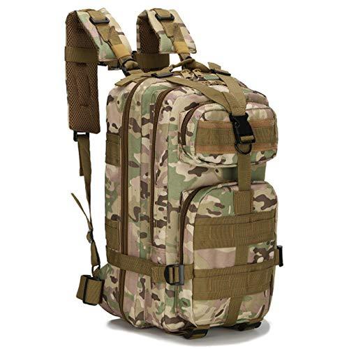 Bolsa de Deporte Senderismo Bolsa de Camping Viaje Bolsa de Trekking Mochila táctica Militar Bolsa de Camuflaje Mochilas 30L