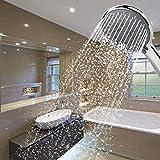 L-YINGZON Plástico empotrados Baño Ducha Boom Head Set Accesorios de baño
