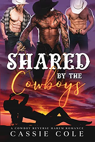 Shared by the Cowboys: A Standalone Reverse Harem Romance