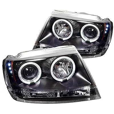 Spyder Auto Jeep Grand Cherokee Halogen LED Projector Headlight