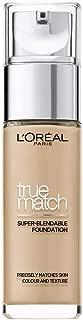 L'Oreal Paris True Match Foundation, 1.5N Linen, 30 ml