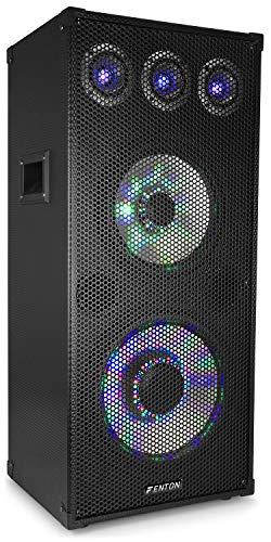 Fenton TL 1012 LED PA-Lautsprecher 900 W, 12
