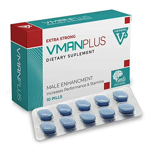 VMAN Plus 1000mg |10 Tablets Immediate Effect, Maximum Duration, Without Contraindications, 100% Natural