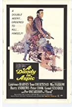 Dandy in Aspic Movie Poster (27 x 40 Inches - 69cm x 102cm) (1968) -(Laurence Harvey)(Tom Courtenay)(Lionel Stander)(Mia Farrow)(Harry Andrews)(Peter Cook)