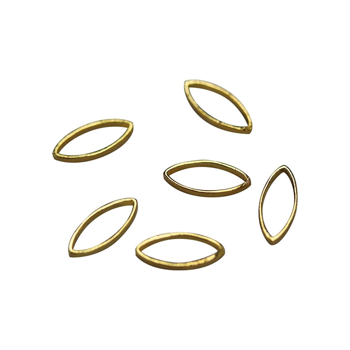 小屋ファイアル知るBonnail×RieNofuji Loop leaf S ゴールド