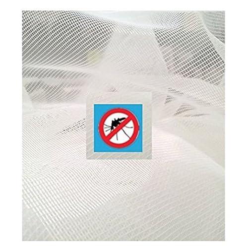 BNG - Tul mosquitera en 10 colores, para puertas y ventanas. Se puede recortar