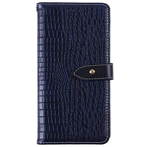 YLYT Flip Hülle Etui Blau Leder Tasche Schutz Hülle Für Leagoo Z6 4.97 inch Handy Horizontale Standfunktion Magnetverschluss Strapazierfähiger Cover