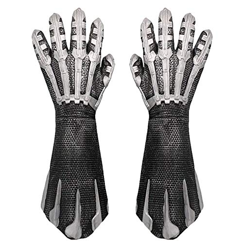 Black Panther Claw Latex Gloves Taskmaster Cosplay Costume Accessories