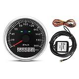 GPS Tachimetro-85mm 200km / h 12 V / 24 V Car Truck Moto GPS Contachilometri contamiglia Gauge Meter con retroilluminazione