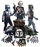 Imagine by Rubie's Star Wars Bounty Hunter Dress Up Trunk Set As Shown Small