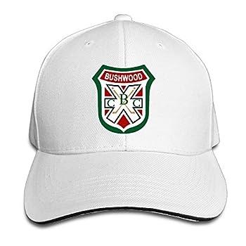 MF Sandwish Caps Bushwood Country Adjustable Baseball Cap White