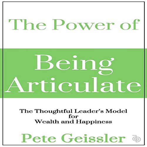 The Power of Being Articulate audiobook cover art
