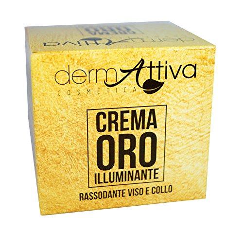 DermAttiva Crema Oro Illuminante Rassodante Viso e Collo 50 ml