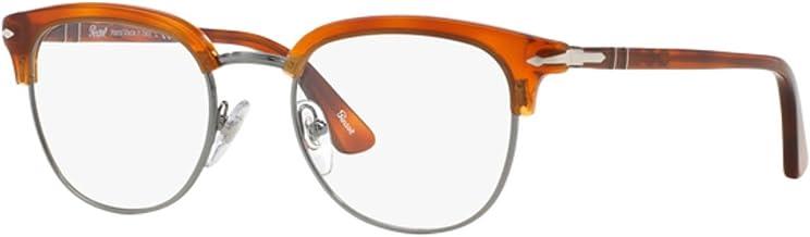Persol Men`s PO3105VM Eyeglasses Terra Di Siena 49mm
