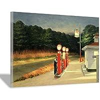 エドワードホッパーの生活とアメリカ写実主義者の芸術壁アートキャンバス絵画ポスターと版画リビングルームオフィス装飾絵画家の装飾