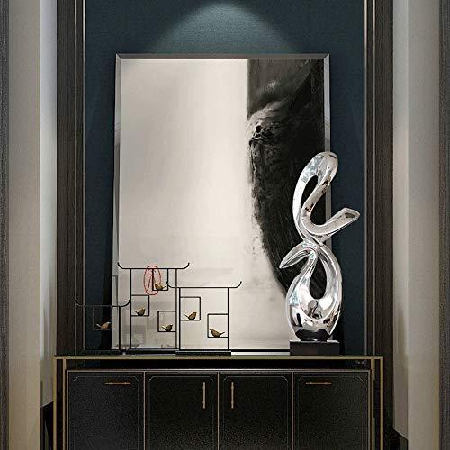 DKEE Decoraciones para el hogar Abstractas Creativas Artesanías De Resina De Recubrimiento Del Ministerio Del Salón De Arte Adornos Entrada Del Hotel Restaurante Del Dormitorio Decoraciones (21 * 32 *