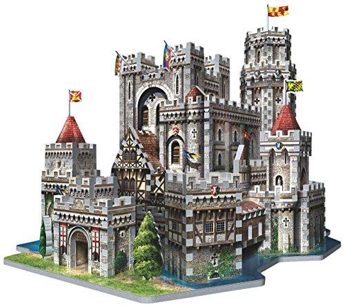Wrebbit - Puzzle en 3D de Camelot del Rey Arturo (865 Piezas