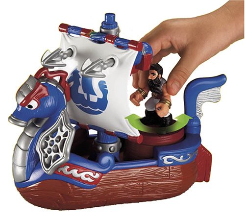 Imaginext Adventures Royal Ship by Fisher-Price