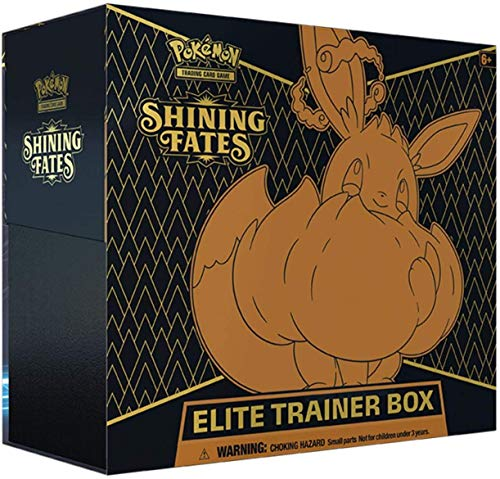 SHININGFATESETB Pokemon Shining Fates Elite Trainer Box