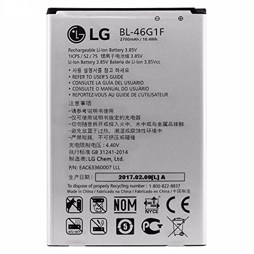 Original LG BL-46G1F Akku 2800 mAh für LG K10 (2017) X400 Battery Batterie