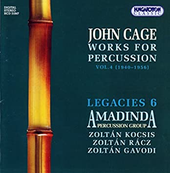 Cage: Works for Percussion, Vol. 4 (1940-1956)