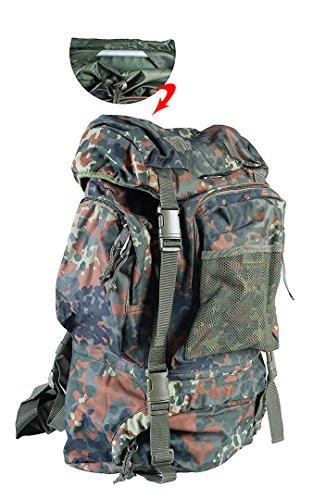 Matthias Kranz US Army Tactical Rucksack Trekking Outdoor Wanderrucksack 65L Schwarz Oliv...
