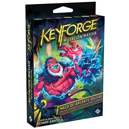 Fantasy Flight Games Juego De Cartas - Keyforge Mutación Masiva Mazo Deluxe...